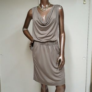 Banana Republic Heidi Cowl Staple Silk Dress
